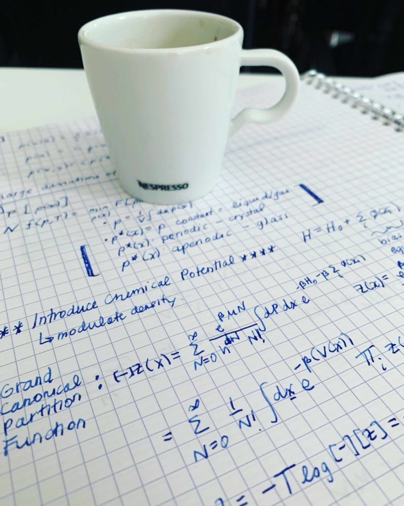 Stat Mech and Espresso
