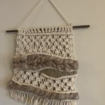 My first attempt at macrame
