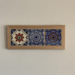 Framed Talavera Relief tiles from La Fuente Imports.
